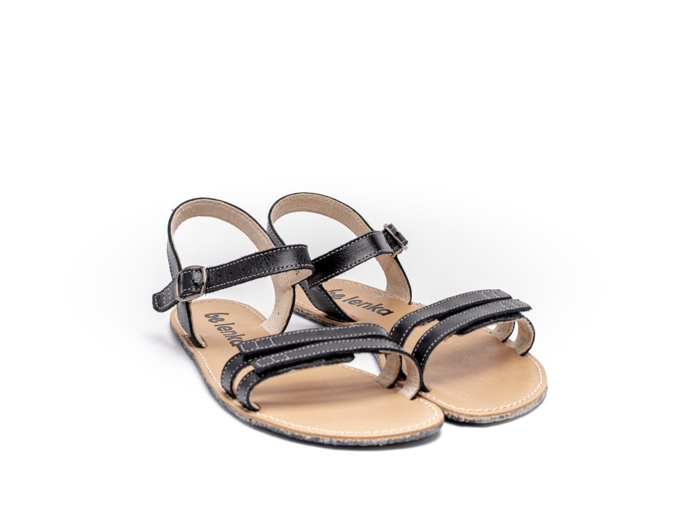 Barefoot sandály Be Lenka Summer - Black