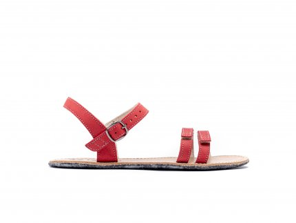 Barefoot sandály Be Lenka Summer - Red